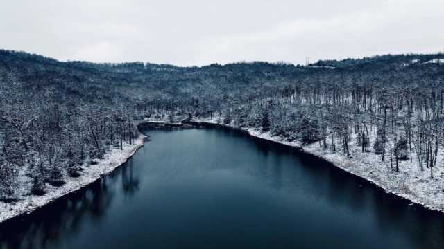 Sad the snow is already gone ❄️❄️❄️  #dronephotography  #mavic  #photography  #bransonmissouri  #discoverbranson